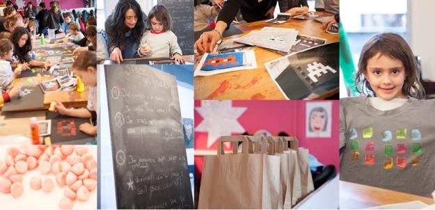 Môm'artre atelier do it yourself enfants événement presse agence 914